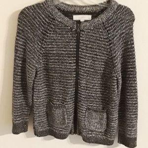 Ann Taylor Loft Petite Tweed Cardigan